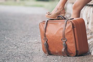 Vintage traveller bag