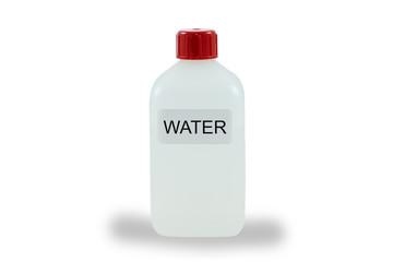 Labor Flasche Wasser
