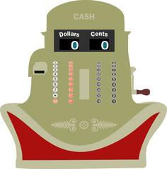 Smiling Cash Register