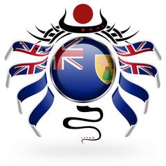 Flag of Turks and Caicos Islands