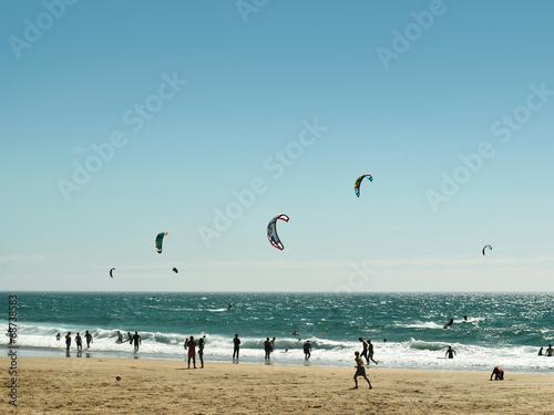 canvas print picture Beach-Aktivity