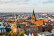canvas print picture - Marktkirche und Zentrum von Hannover, Deutschland