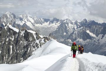 Ascesa al Monte Bianco