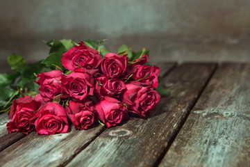 Background with beautiful roses bouquet.,,