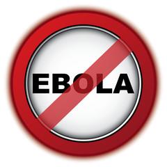 STOP EBOLA ICON