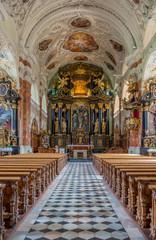 Ein Geschmückter Altar