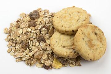 Cookies with oat flakes