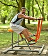 Fitness in public park