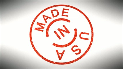 Stempel Made in U S A
