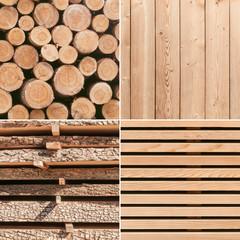 Holz, Verarbeitung, vielseitiger Baustoff, Rohstoffe