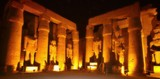 Luxor temple at night, Egypt