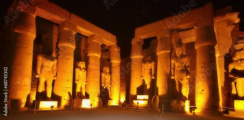 Luxor temple at night, Egypt - 68743302