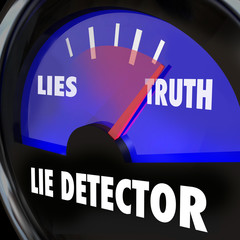 Lie Detector Truth Honesty Vs Dishonesty Lying Polygraph Test