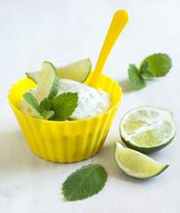 Ice cream Mojito