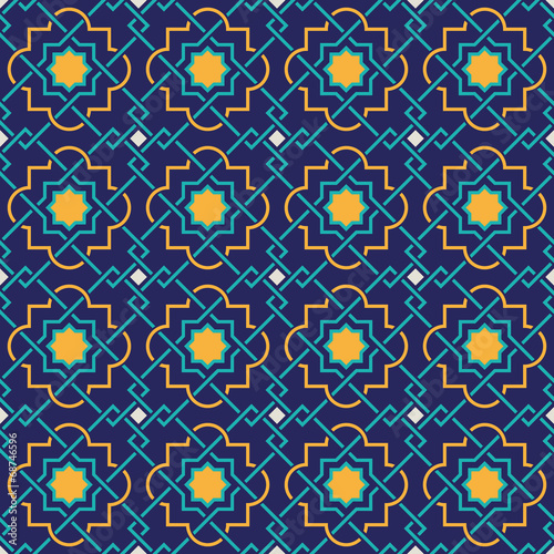 Tangled Lattice Pattern - 68746596