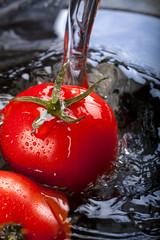 Wash tomatoes