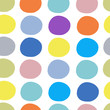 Abstract circles pattern seamless for your design