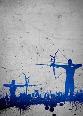 Archery background