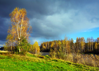 Autumnal nature, scenery