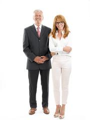 Successful business people portrait