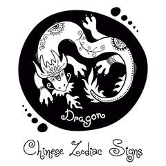 Dragon. Chinese Zodiac Sign