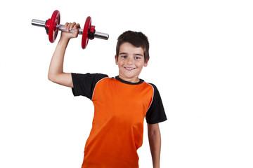 child doing gymnastics sport jersey, active people