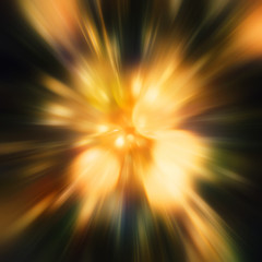 Abstract shining lights plasma explosion - cg render