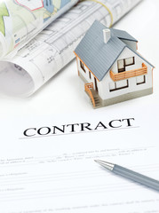 Buyer's Contract - Stock Image