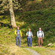 Drei Wanderer