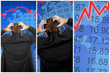 Panic on stock market