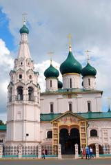 Church of Elijah the Prophet in Yaroslavl (Russia).