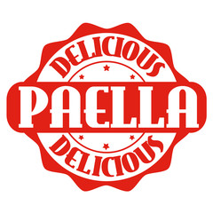 Paella stamp