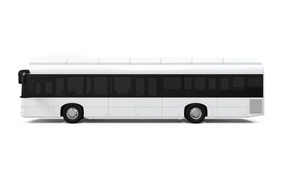 City Bus Isolated