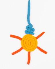 Plasticine bulb.