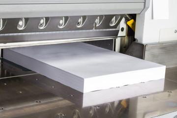 Schneidemaschine Druckerei #6
