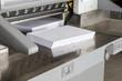 Leinwanddruck Bild - Schneidemaschine Druckerei #10