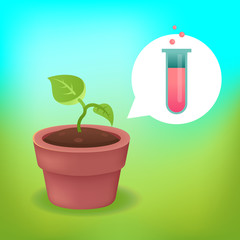 Science & Nature: Vector plant concept