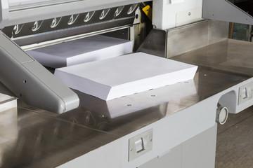 Schneidemaschine Druckerei #10