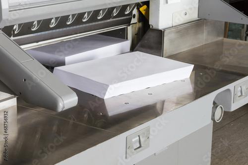 Leinwanddruck Bild Schneidemaschine Druckerei #10