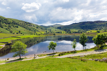Watendlath Tarn Lake District Cumbria England uk