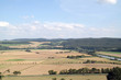 canvas print picture - Weserbergland im August