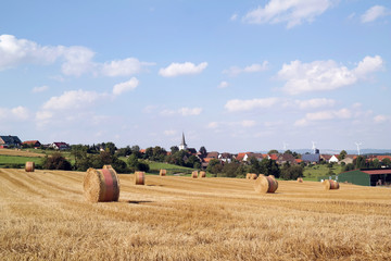 Erntezeit im Weserbergland