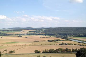 Weserbergland im August