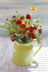 Beautiful Rudbeckia flowers, indoors