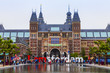 Amsterdam, Netherlands. The square in front of the State museum - 68761129