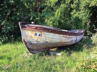 Vecchia barca