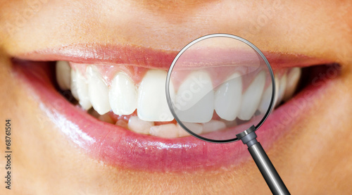 canvas print picture Dental care