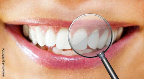 Leinwandbild Motiv Dental care