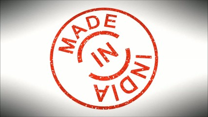 Stempel Made in India