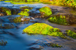 canvas print picture - kleiner Wasserlauf